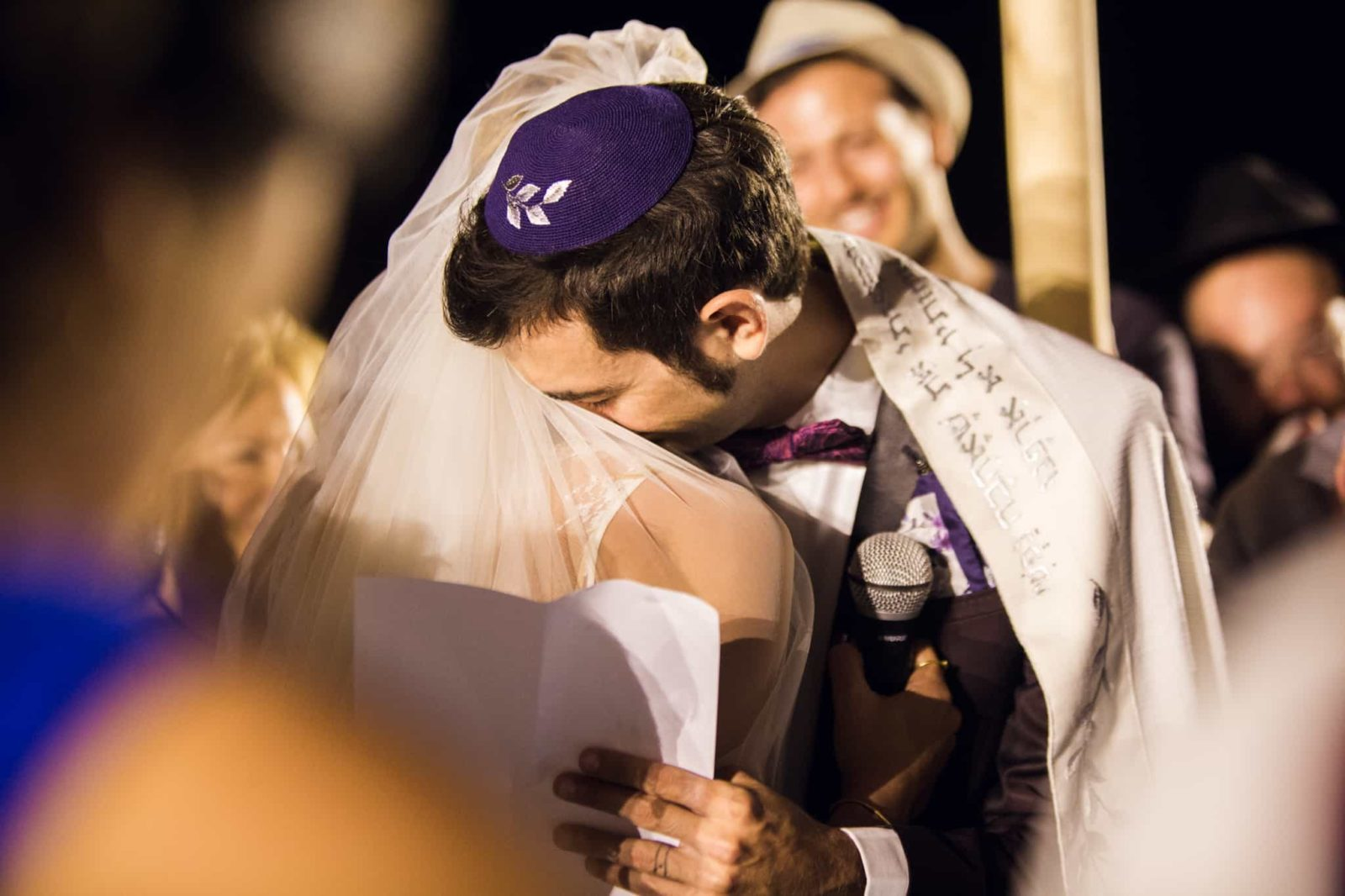Add tallit? - Jewish Wedding Ceremony